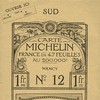 Carte Michelin France N°12 - 1910 -