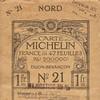 Carte Michelin France N°21 - 1914 -