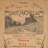 Carte Michelin France N°12 - 1919 -