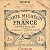 Carte Michelin France N°10 - 1921 -
