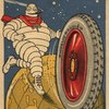 Pub Carte Michelin - pneu cbl - 1923 -