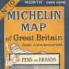 Carte Michelin Grande-Bretagne - 1925 -