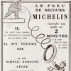 Le pneu de secours Michelin - 1913 -